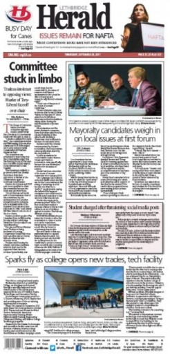 Media Scan for Lethbridge Herald