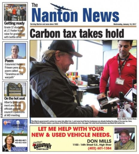 Media Scan for Nanton News