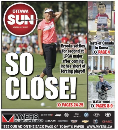 Media Scan for Ottawa Sun