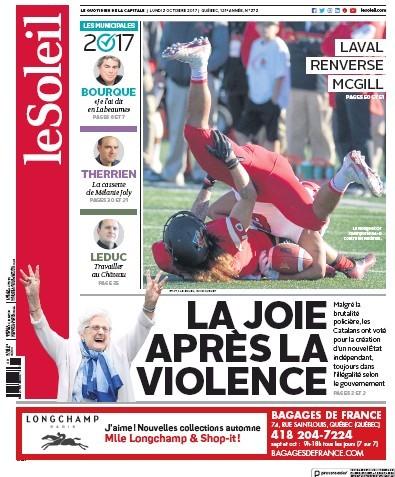 Media Scan for Quebec City Le Soleil