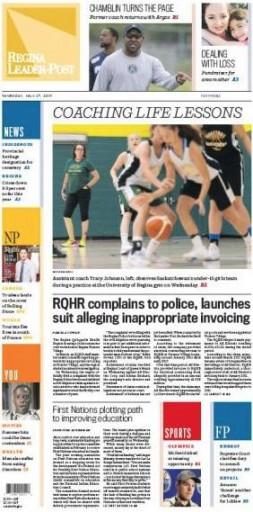 Media Scan for Regina Leader Post