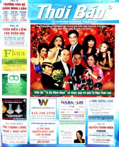 Media Scan for Vietnam Thoi Bao - Canada