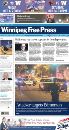 Media Scan for Winnipeg Free Press
