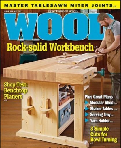 Media Scan for Wood Magazine