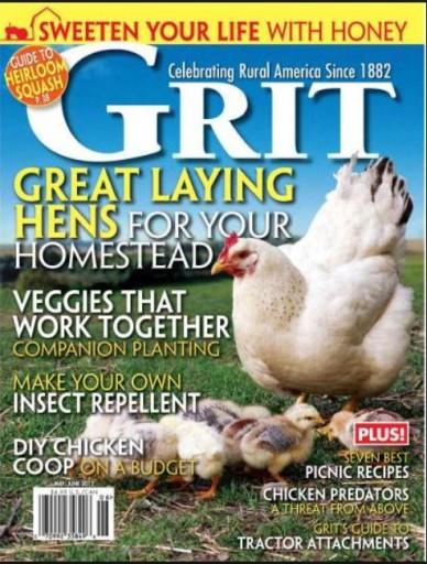 Media Scan for Grit Magazine