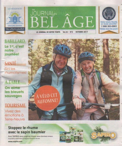 Media Scan for Le Journal du Bel Age