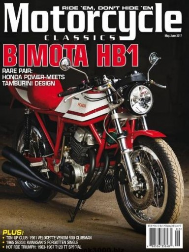 Media Scan for Motorcycle Classics