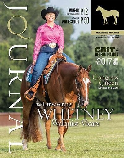 Media Scan for American Quarter Horse Journal (AQHJ)
