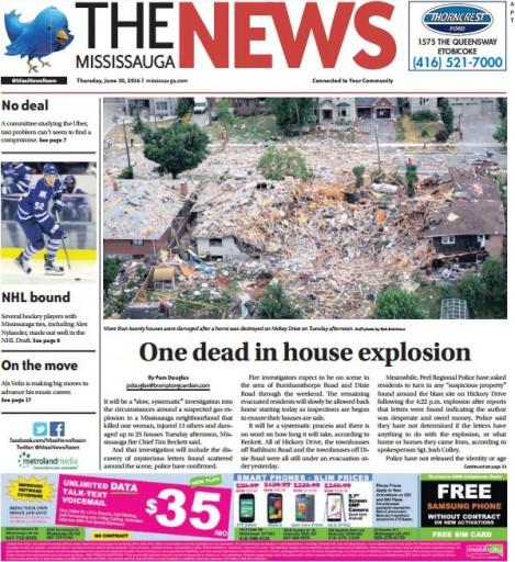 Media Scan for Mississauga News