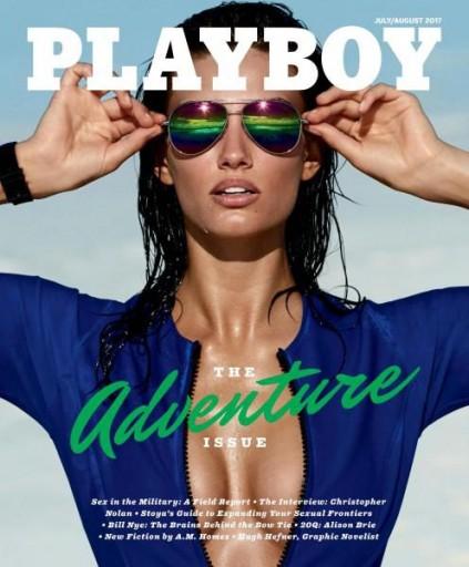 Media Scan for Playboy Magazine