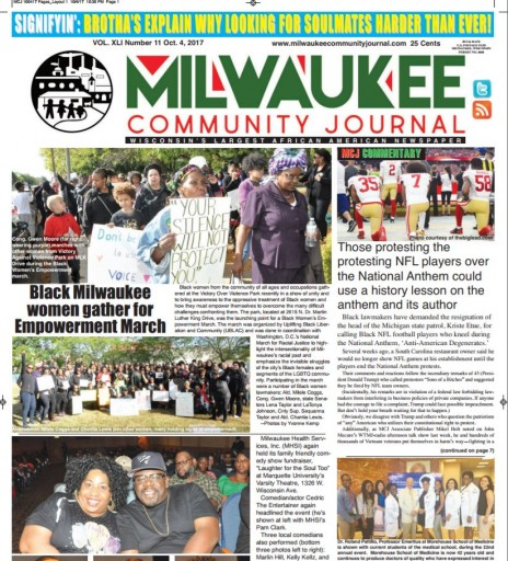 Media Scan for Milwaukee Community Journal