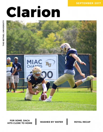 Media Scan for Bethel University Clarion
