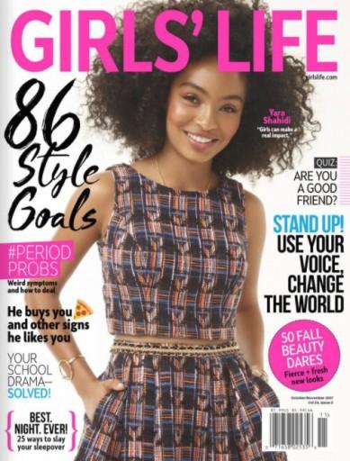 Media Scan for Girls Life Magazine