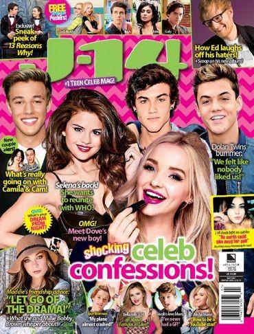 Media Scan for J-14 Magazine