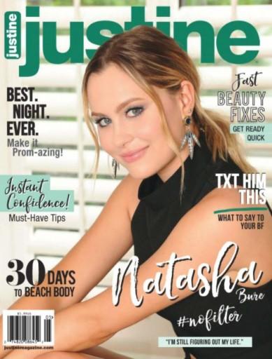 Media Scan for Justine Magazine