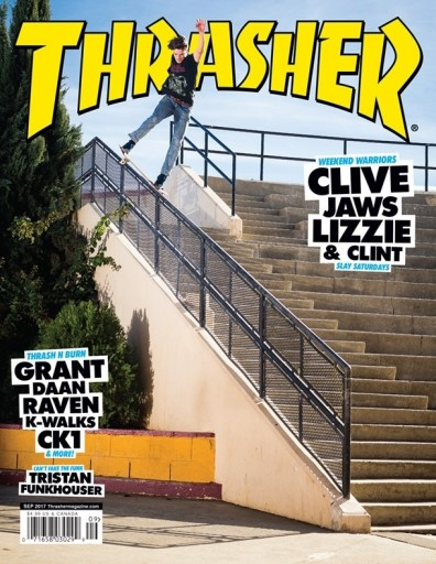 Media Scan for Thrasher Magazine
