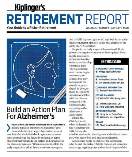 Media Scan for Kiplinger's Retirement Report