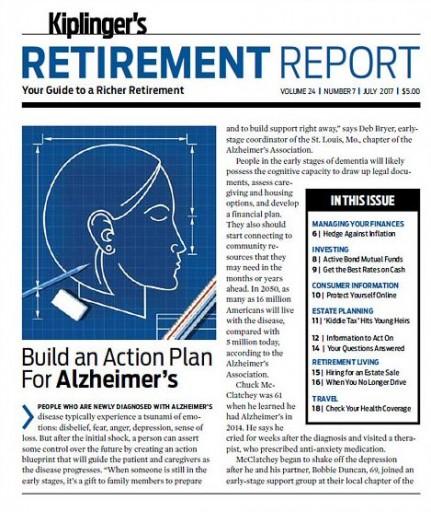 Media Scan for Kiplinger's Retirement Report