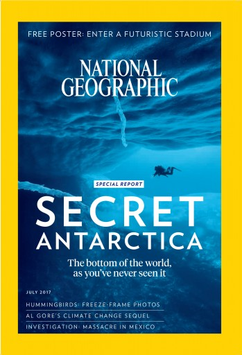 Media Scan for National Geographic Magazine