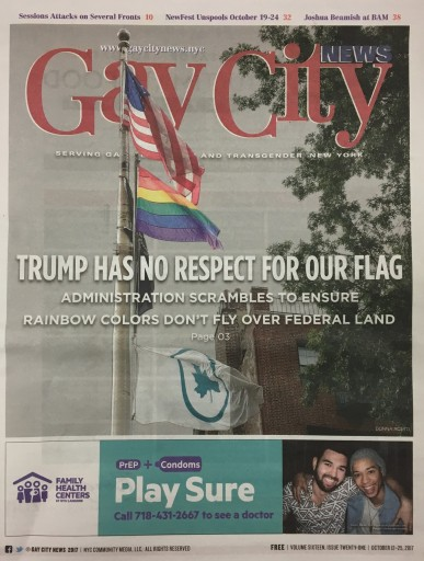 Media Scan for New York Gay City News