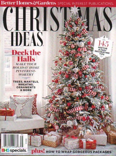 Media Scan for Better Homes & Gardens Holiday SIPs