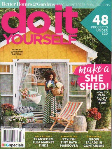 Media Scan for Better Homes & Gardens Outdoor Living SIPs