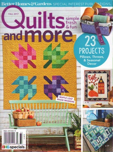 Media Scan for Better Homes & Gardens Special Interest Media