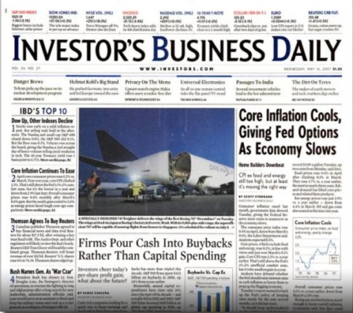 Media Scan for Investor's Business Daily