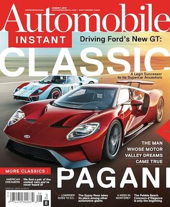 Media Scan for Automobile Magazine