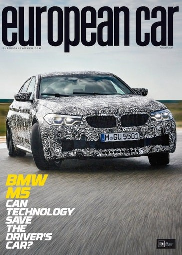 Media Scan for European Car Magazine