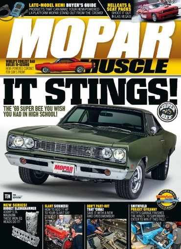 Media Scan for Mopar Muscle