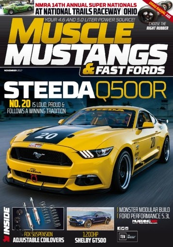 Media Scan for Muscle Mustangs & Fast Fords Magazine