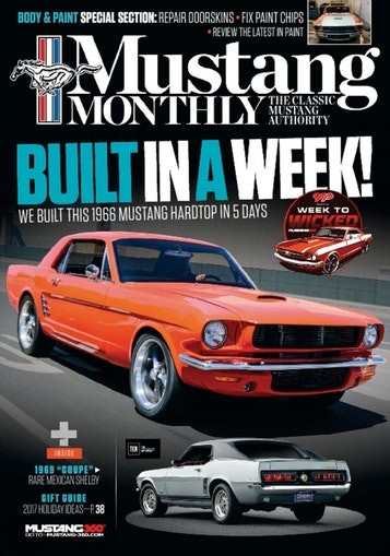 Media Scan for Mustang Monthly