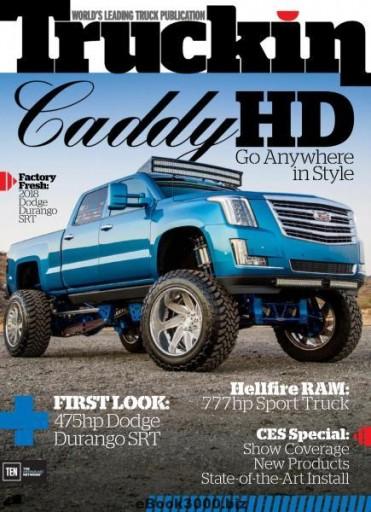 Media Scan for Truckin' Magazine