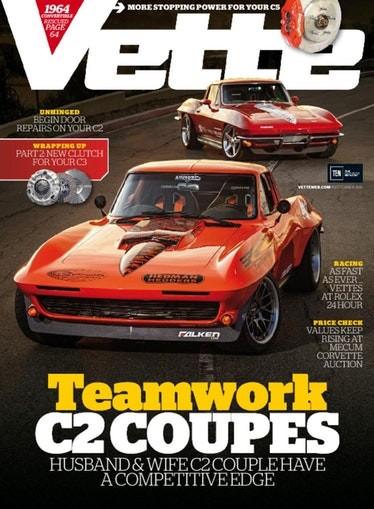 Media Scan for Vette Magazine