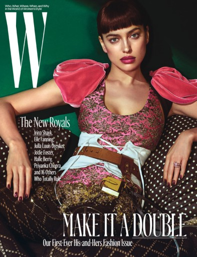 Media Scan for W Magazine