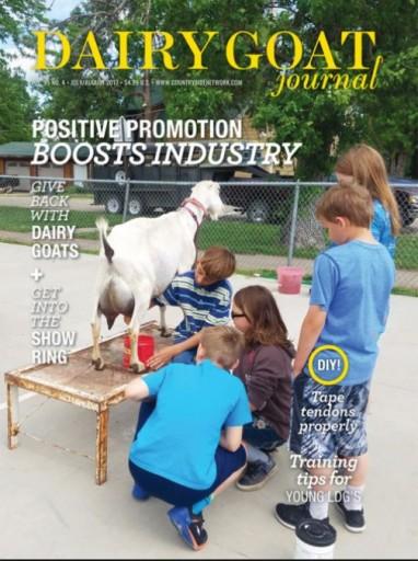 Media Scan for Dairy Goat Journal