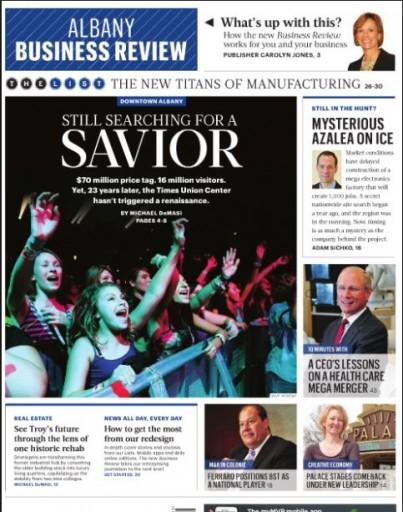 Media Scan for Albany Business Review
