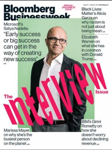 Media Scan for Bloomberg BusinessWeek Magazine