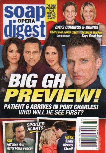 Media Scan for Soap Opera Digest