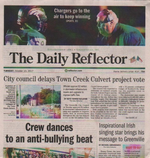 Media Scan for Greenville Daily Reflector