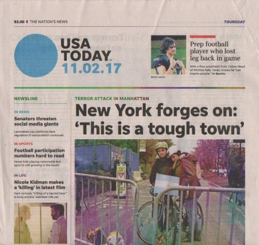 Media Scan for USA Today