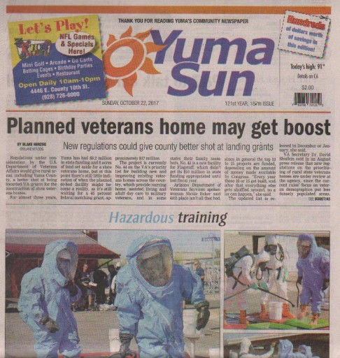 Media Scan for Yuma Sun