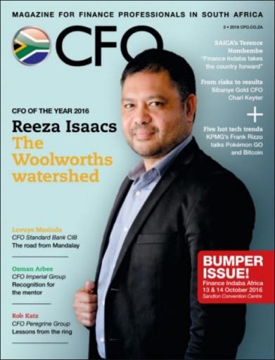 Media Scan for CFO Magazine