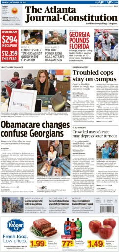 Media Scan for Atlanta Journal-Constitution