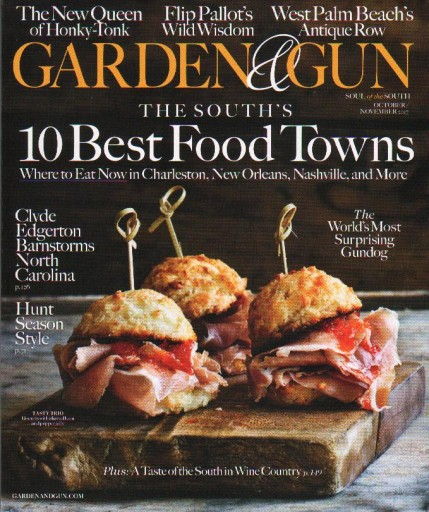 Media Scan for Garden & Gun