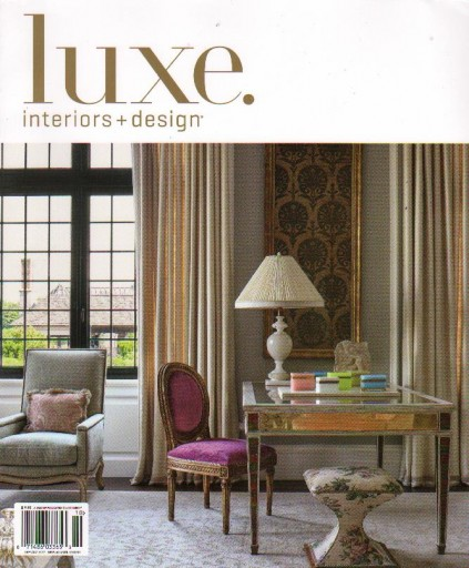 Media Scan for Luxe Magazine