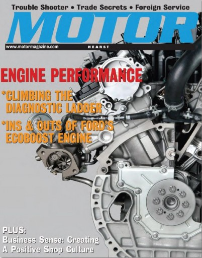 Media Scan for Motor Magazine