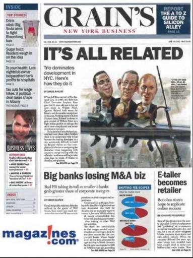 Media Scan for Crain's New York Business