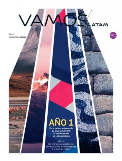 Media Scan for Vamos- LATAM Airline Magazine